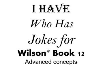 I Have, Who Has Jokes for Wilson Book 12 Review
