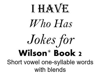 I Have, Who Has Jokes for Wilson Book 2 Review
