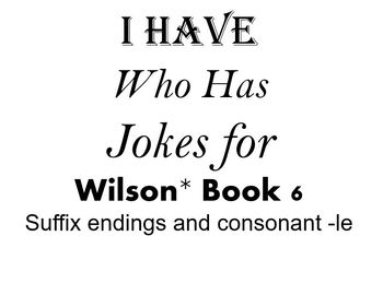 I Have, Who Has Jokes for Wilson Book 6 Review
