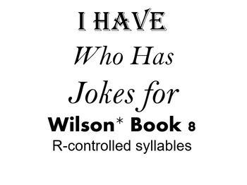 I Have, Who Has Jokes for Wilson Book 8 Review