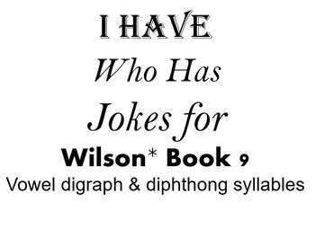 I Have, Who Has Jokes for Wilson Book 9 Review