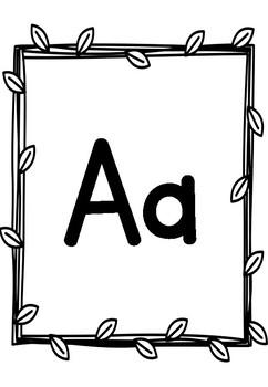 Alphabet Classroom Display