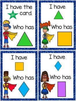 I Have, Who Has? ~ Kindergarten Bundle