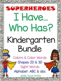 I Have, Who Has? ~ Kindergarten Bundle