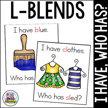 I Have, Who Has L-Blends