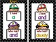 I Have, Who Has? Large Cards Pre-Primer Sight Words