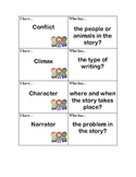 """I Have, Who Has?"" Literary Elements Review Game"