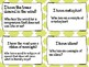 I Have, Who Has? Figurative Language - Set of 20 Cards - Grades 5-8