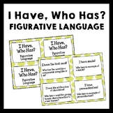 I Have, Who Has? Figurative Language Task Cards