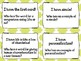 I Have, Who Has? Figurative Language - Set of 20 Cards - G