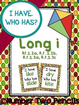I Have, Who Has: Long I