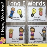 I Have, Who Has? Long I Words Cards