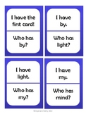 I Have, Who Has: Long I (i, y, igh spellings)