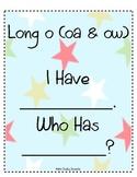 I Have Who Has: Long O (oa & ow)
