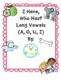 I Have, Who Has? Long Vowel Game