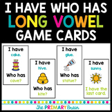 I Have Who Has Long Vowel Game Cards