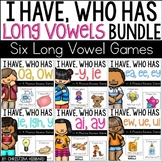 I Have, Who Has? Long Vowels  Bundle