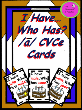 I Have...Who Has? Long a CVC Cards