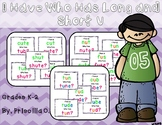 I Have, Who Has Long and Short U
