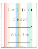 I Have Who Has: Long i (i-e)