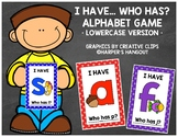 *UPDATED* I Have... Who Has? Lowercase Alphabet Game