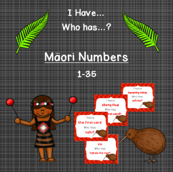 I Have, Who Has? Maori Numbers