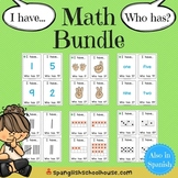I Have, Who Has Math Game Bundle