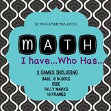 I Have, Who Has Math Games