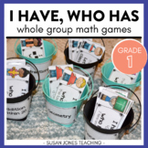 I Have, Who Has Math Games for 1st Grade