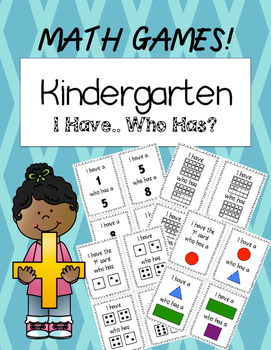 I Have...Who Has? Math Games for Kindergarten!