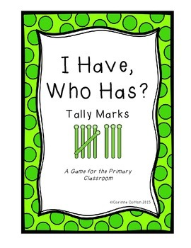 I Have Who Has Math Tally Game (1-24)