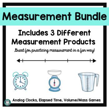 I Have, Who Has - Measurement Bundle