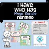 I Have Who Has Mega Number Game Bundle
