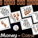 I Have Who Has Game Money Coins