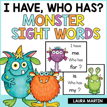 I Have, Who Has-Sight Word Game-EDITABLE FREEBIE