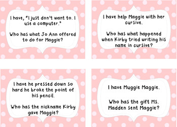 I Have, Who Has Muggie Maggie- A whole class reading game!