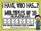 I Have Who Has Game: Multiples of 10 Multiplication