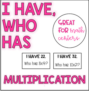 I Have, Who Has Multiplication