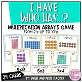 I Have Who Has Multiplication Arrays Game
