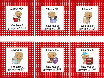 I Have, Who Has? Multiplication {CCSS Aligned}