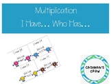 I Have.. Who Has... Multiplication Facts