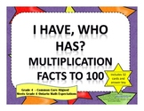 I Have Who Has Multiplication Facts to 100
