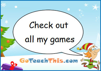Christmas Math Game - I Have… Who Has…? Multiplication