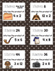 Detectives I Have Who Has Multiplication Game Facts 2 to 12