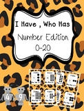 I Have, Who Has - Number Edition (0-20)