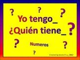 I Have, Who Has? Number Edition (Yo tengo, Quien tiene  Numeros) SPANISH