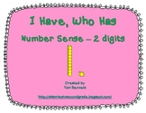 I Have, Who Has - Number Sense 2 digits