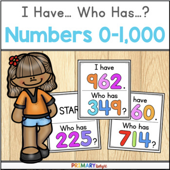 Numbers to 1000: I Have... Who Has...?