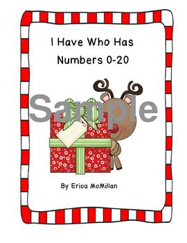 I Have Who Has Numbers 0-20