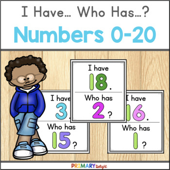 I Have... Who Has...? Numbers 0-20